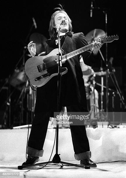Steve Marriott of The Small Faces performing on stage, London, United Kingdom, 1977.