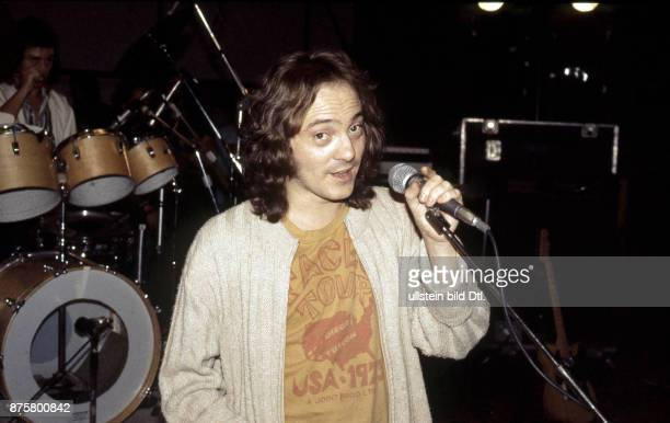 Steve Marriott , Small Faces, rock band, UK - on stage in Berlin, Waldbuehne