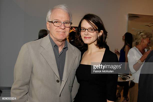 Steve Martin and Anne Springfield attend Metropolitan Opera's Art For Opera Hosted by Peter Gelb General Manager at The Metropolitan Opera on May 6...