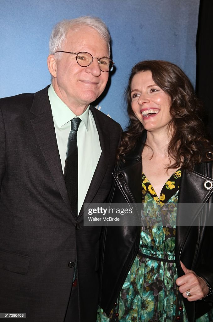 Steve Martin and Edie Brickell attend the 'Bright Star