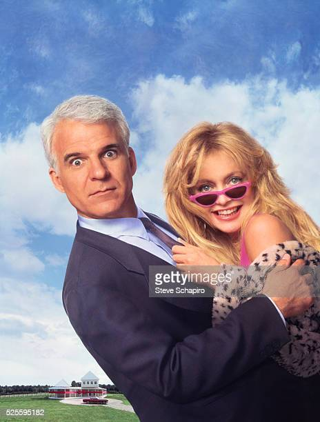 Steve Martin and Goldie Hawn from the film Housesitter