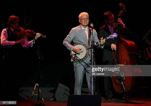 Steve Martin and The Steep Canyon Rangers perform at the Pantages Theatre on September 1 2012 in Hollywood California