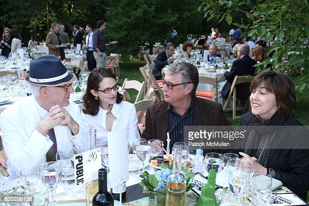 Steve Martin Anne Stringfield Mike Nichols and Nora Ephron attend The Public Theater's Annual Gala Opening Night of Hamlet at Shakespeare In The Park...