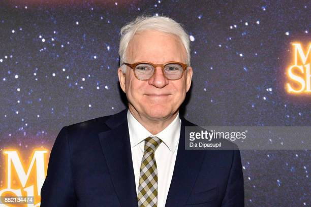 Steve Martin attends the Meteor Shower Broadway Opening Night at the Booth Theatre on November 29 2017 in New York City