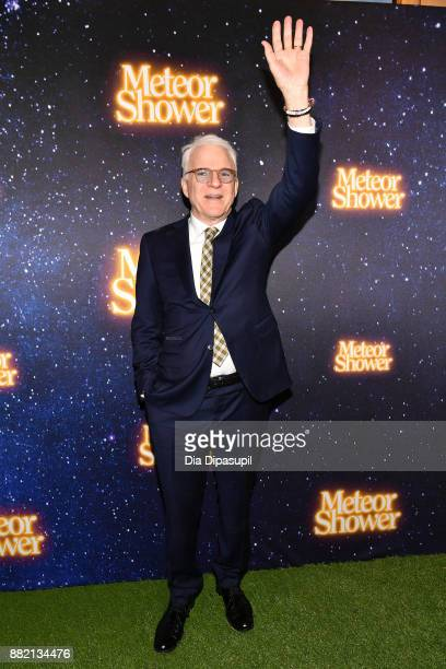 Steve Martin attends the 'Meteor Shower' Broadway Opening Night at the Booth Theatre on November 29 2017 in New York City
