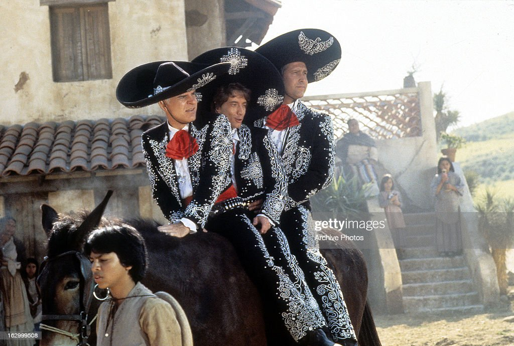 Steve Martin And Chevy Chase In '¡Three Amigos!' : News Photo