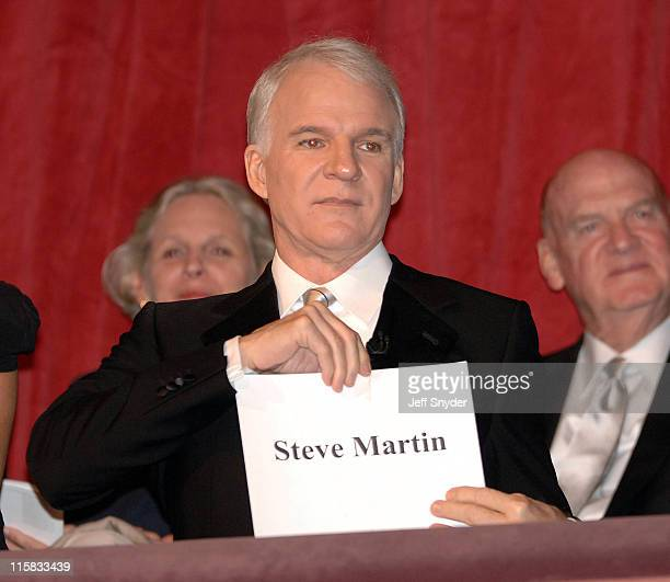 Steve Martin during Mark Twain Prize For American Humor at The Kennedy Center in Washington DC