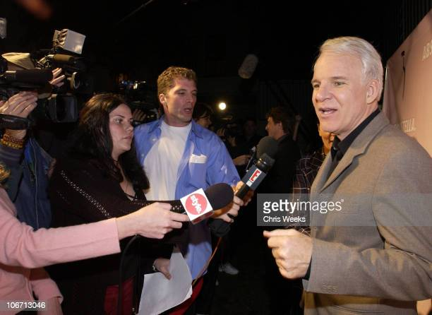 Steve Martin during Party Announcing the Partnership Between Fashion Designer Stella McCartney and Absolut at Chateau Marmont Hotel in West Hollywood...