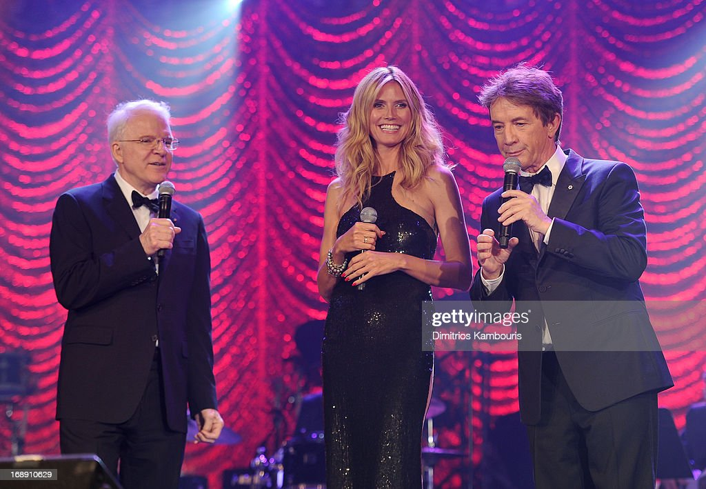 Steve Martin, Heidi Klum and Martin Short entertain attendees at the 2013 Toys'R'Us Children''s Fund Gala on Thursday, May 16 in New York City. One of the largest, single-night fundraisers in New York City, the Toys'R'Us Children's Fund Gala has raised more than $100 million, since its inception, to support charitable organizations that keep children safe and help them in times of need.