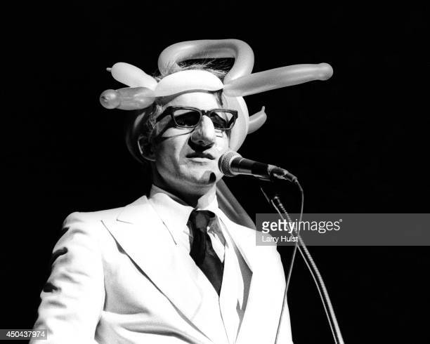Steve Martin performing as a 'Wild and crazy guy' at the Community Center in Sacramento California on January 1 197