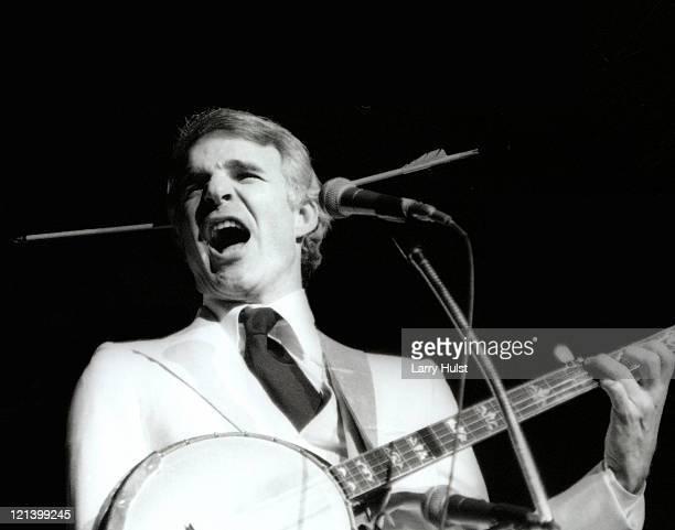 Steve Martin performing at the Community Center in Sacramento California in circa 1975