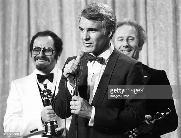 Steve Martin presents Best Visual Effects Oscar at the 51st Academy Awards circa 1979 in Los Angeles California