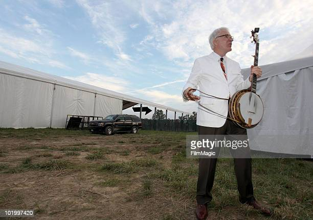 Steve Martin The Steep Canyon Rangers perform onstage during Bonnaroo 2010 at That Tent on June 11 2010 in Manchester Tennessee