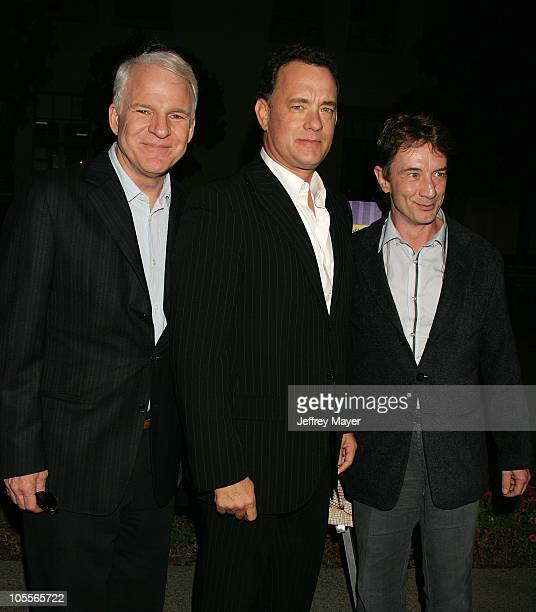 Steve Martin Tom Hanks and Martin Short during Jerry Lewis Hosts Special Screening of The Nutty Professor at Paramount Theater in Hollywood...