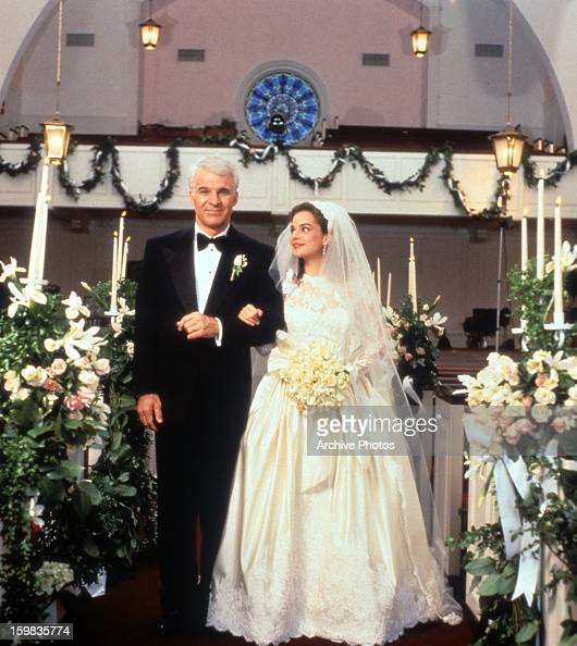 Steve Martin Walking Down The Aisle With Kimberly Williams