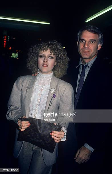Steve Martin with Bernadette Peters circa 1970 New York