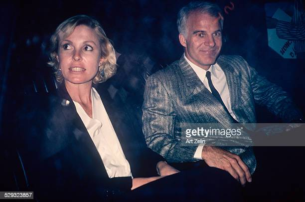 Steve Martin with his wife Victoria Tennet circa 1970 New York