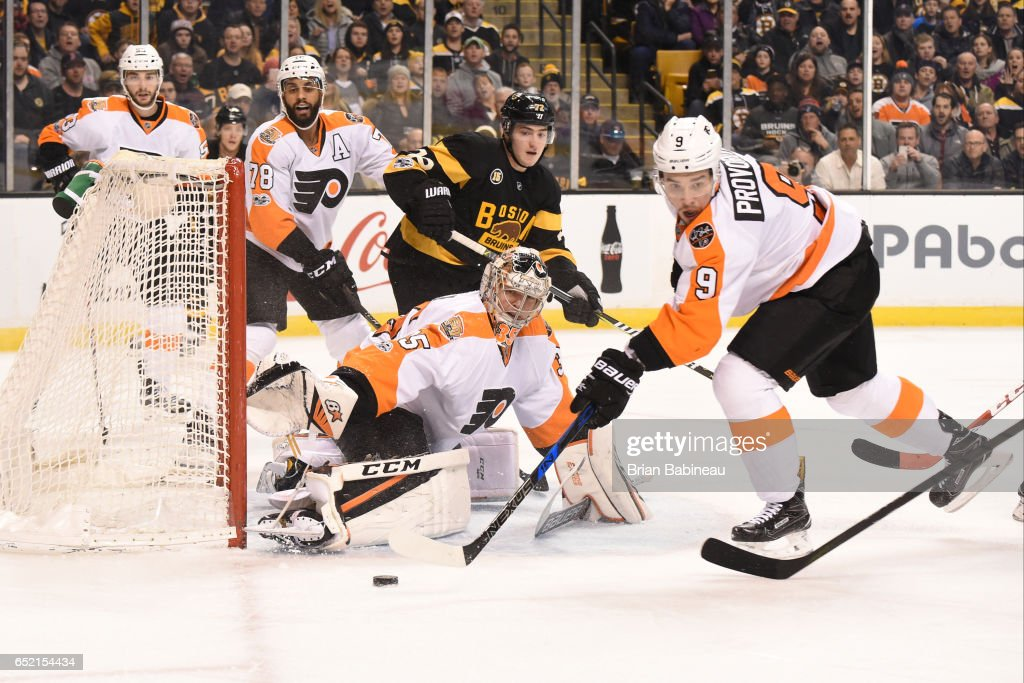 Philadelphia Flyers v Boston Bruins