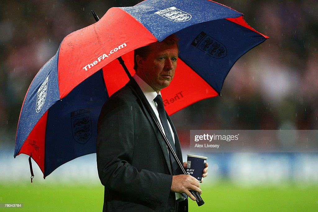 Steve McLaren At Wembley