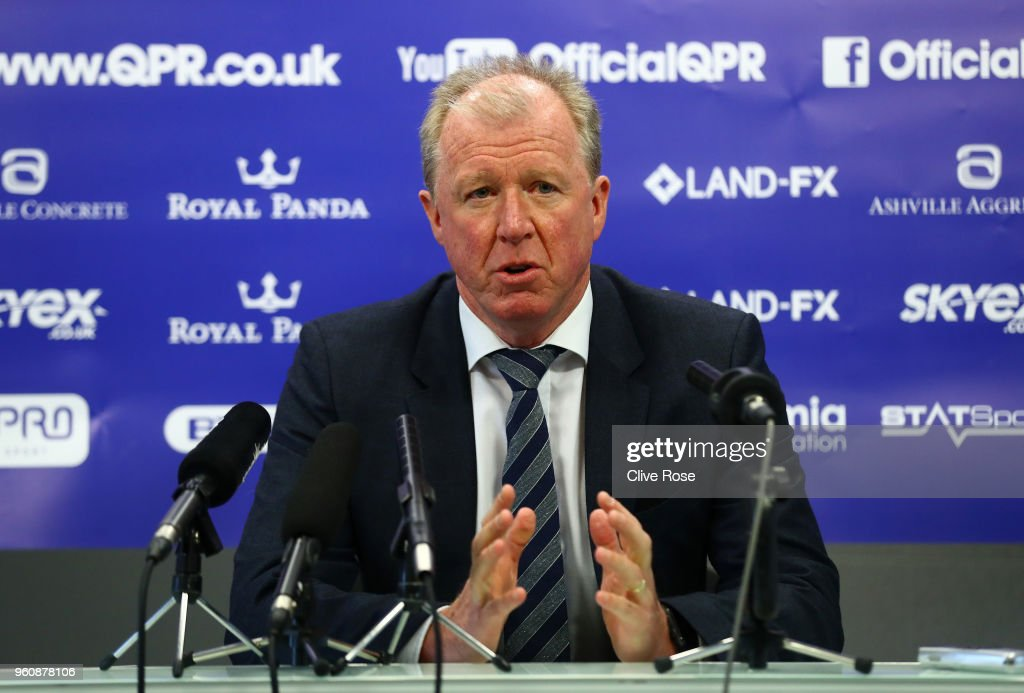Queens Park Rangers Unveil New Manager Steve McClaren : News Photo