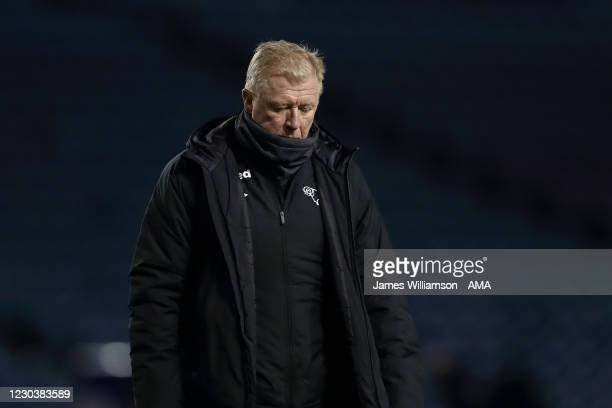 Steve McClaren the technical director of Derby County during the Sky Bet Championship match between Sheffield Wednesday and Derby County at...