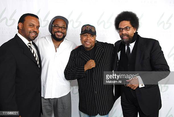 Steve McKeever Malcolm Jamal Warner Mike Dailey and Dr Cornel West