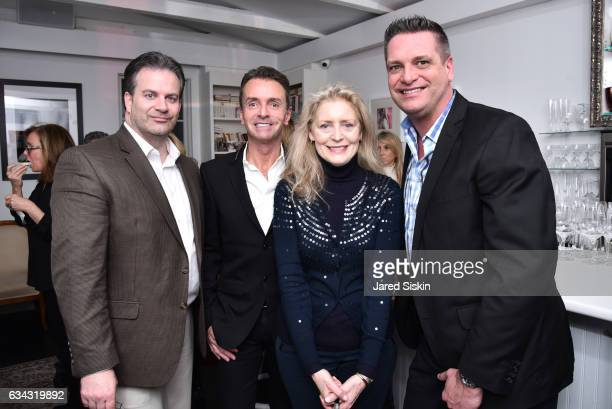 Steve Mckenna Frederico Azevedo Catherine Ellams and Ken Kroncke attend AVENUE Celebrates the New Year at Pierre's on February 8 2017 in...