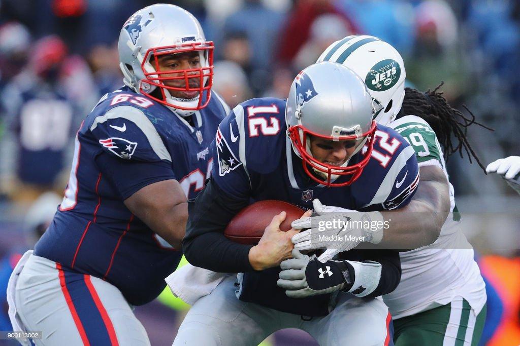 New York Jets vNew England Patriots : Foto jornalística