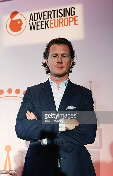 Steve McManaman England Liverpool attends The Big Event Connecting Fans and Brands With the FIFA World Cup Across Every Screen in the David Lean Room...