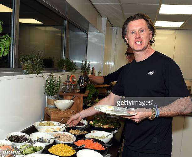 Steve McManaman ex player of Liverpool at Melwood Training Ground on May 22 2017 in Liverpool England