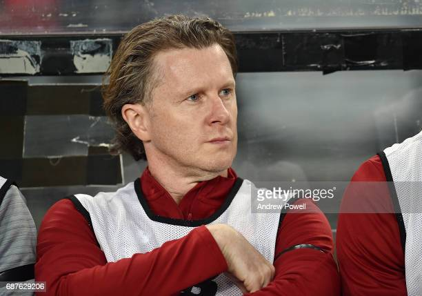 Steve McManaman of Liverpool during the International Friendly match between Sydney FC and Liverpool FC at ANZ Stadium on May 24 2017 in Sydney...