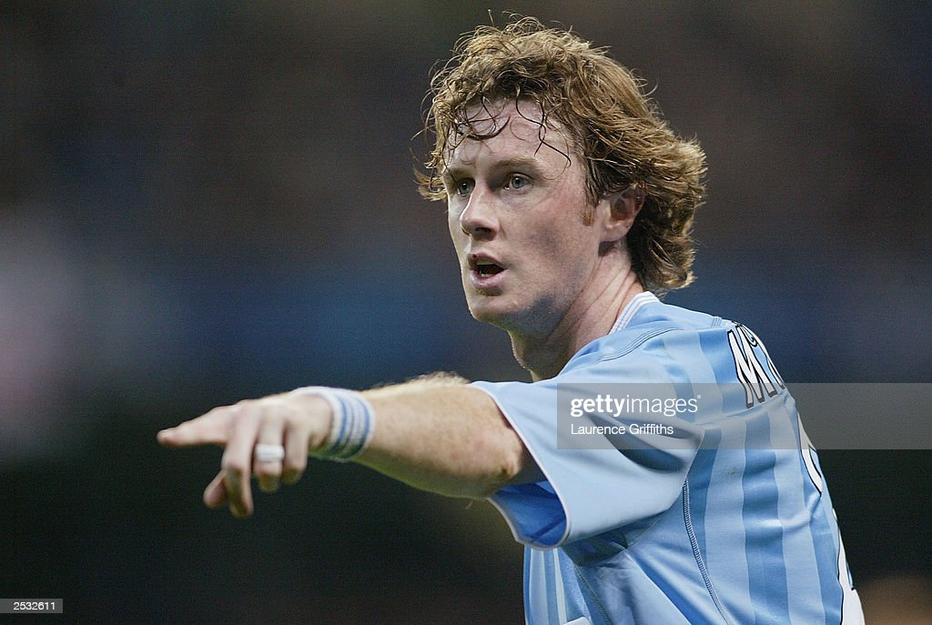 Steve McManaman of Man City  : ニュース写真