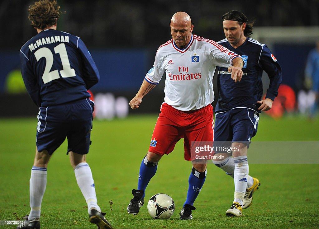 Match Against Poverty - HSV Allstars v Ronaldo, Zidane & Friends
