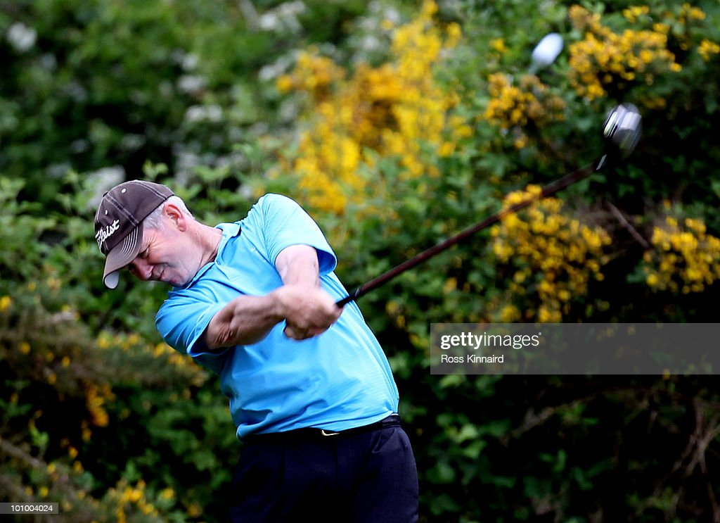 Steve Mcnally of De Vere Slaley Hall during the second round of the Senior PGA Professional Championship at Northamptonshire County Golf Club on May 27, 2010 in Northampton, England.
