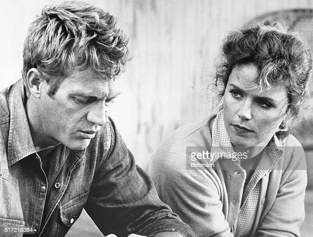 Steve McQueen and Lee Remick in a scene from 'Baby the Rain Must Fall' 1965