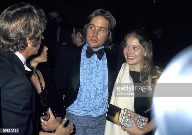 Steve McQueen and wife Neile McQueen Michael Douglas and wife Diandra Douglas