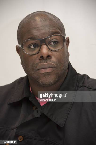 """Steve McQueen at the """"Widows"""" Press Conference at the Fairmont Royal York Hotel on September 8, 2018 in Toronto, Canada."""