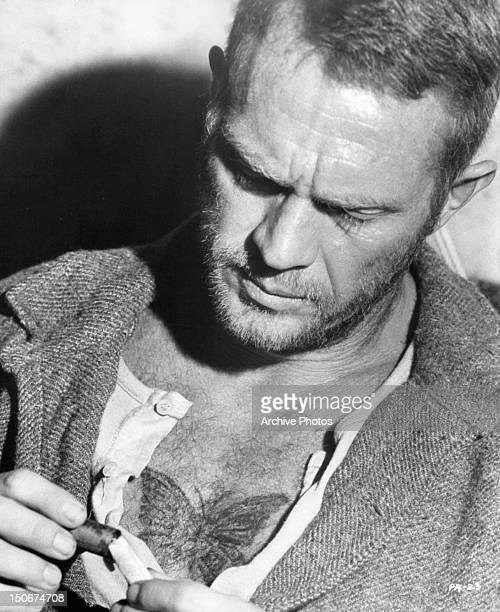 Steve McQueen in a scene from the film 'Papillon' 1973