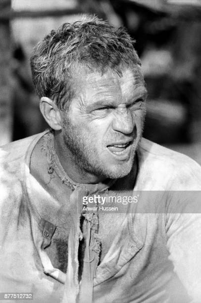 Steve McQueen in the role of Henri Charriere on the set of the film 'Papillon' on January 01 1973 in Jamaica