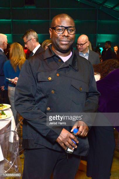 Steve McQueen is seen with FIJI Water at the Hollywood Reporter's 27th Annual Women In Entertainment Breakfast on December 5 2018 in Los Angeles...