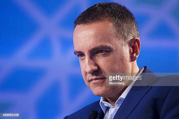 Steve Melhuish chief executive officer and cofounder of PropertyGuru Group listens at the Bloomberg ASEAN Business Summit in Bangkok Thailand on...