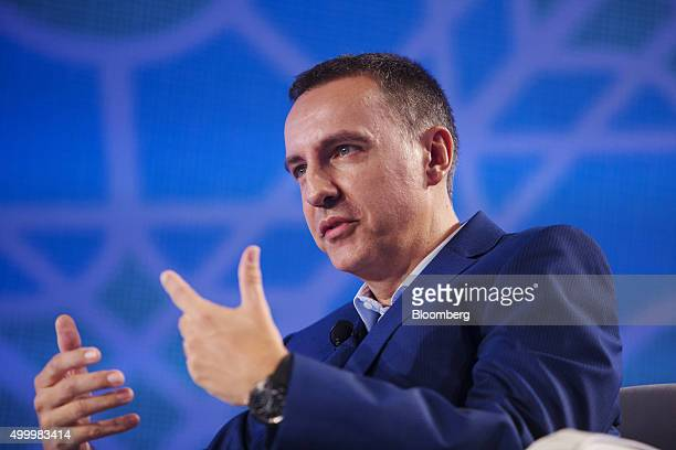 Steve Melhuish chief executive officer and cofounder of PropertyGuru Group speaks at the Bloomberg ASEAN Business Summit in Bangkok Thailand on...