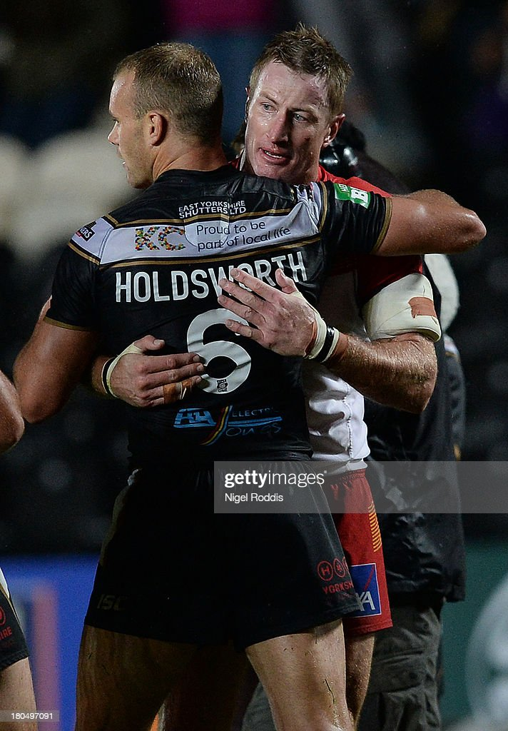 Hull FC v Catalans Dragons - Super League Play Offs