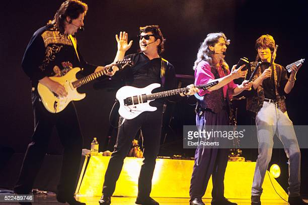 Steve Miller and band performing at the Jones Beach Theater in Wantagh New York on July 1 1993