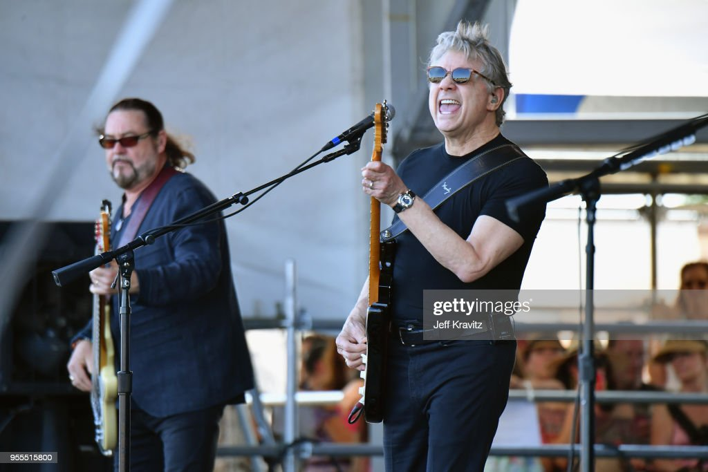 Steve Miller Band performs onstage during Day 7 of the 2018 New Orleans Jazz & Heritage Festival at Fair Grounds Race Course on May 6, 2018 in New Orleans, Louisiana.