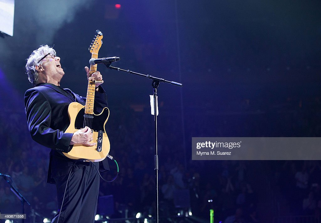 Steve Miller performs as a guest at Billy Joel's concert at Madison Square Garden on October 21, 2015 in New York City.