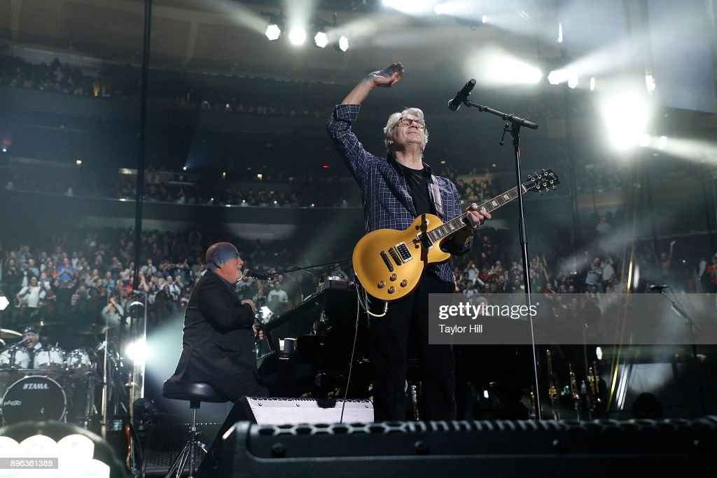 Steve Miller Performs With Billy Joel At Madison Square Garden On December  20, 2017 In