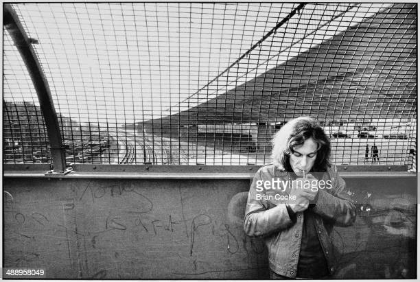 Steve Miller photographed in West London for the cover of his album Miller/Coxhill released by Virgin Records on 23rd November 1973