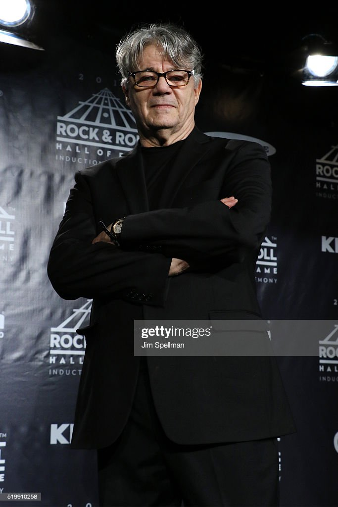 Steve Miller speaks in the press room at the 31st Annual Rock And Roll Hall Of Fame Induction Ceremony at Barclays Center of Brooklyn on April 8, 2016 in New York City.