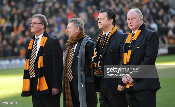 Steve Morgan the owner / chairman of Wolverhampton Wanderers Jez Moxey the CEO of Wolverhampton Wanderers Jon Bowater Director of Wolverhampton...